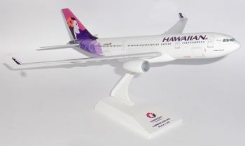 Airbus A330-200 Hawaiian Airlines Resin Skymarks Collectors Model 1:200 SKR593 No Box  E